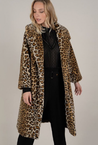 Animal Print Coat from Scout & Molly's