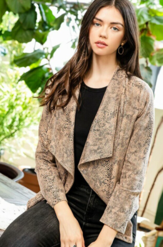 Snake Cardigan from THML