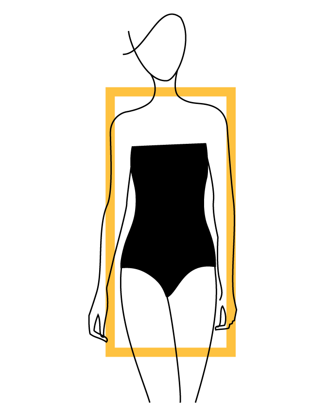 Rectangular Body Shapes