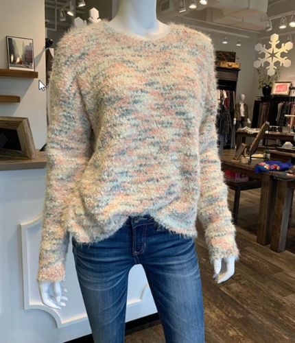 Jeans and Sweater at Scout & Molly's
