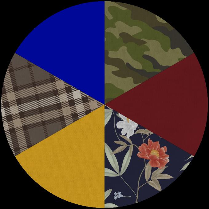 Fall Fashion Color Wheel