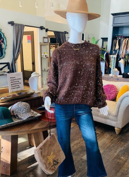 Cozy Sweater and Jeans in Southlake