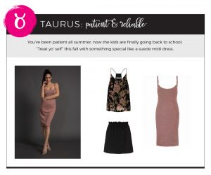 Fall 2018 Styles for Your Star Sign - Taurus