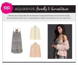 Fall 2018 Styles for Your Star Sign - Aquarius